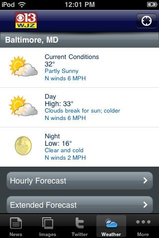 WJZ-13 Baltimore screenshot 4