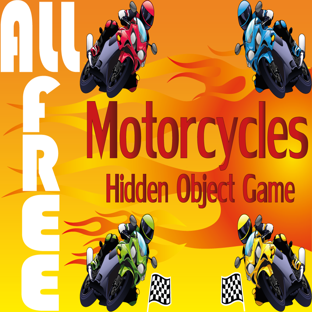 Hidden Object Game - Motorcycles